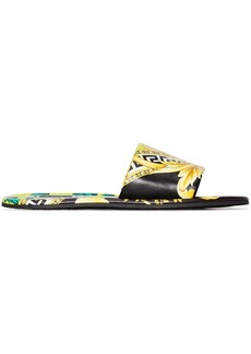 Versace Baroque printed slides