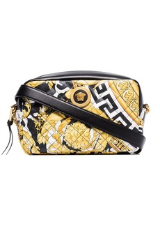 Versace Baroque quilted cross-body bag