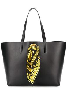 Versace Baroque scarf tote bag