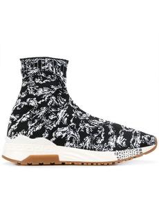 Versace Baroque sock sneakers