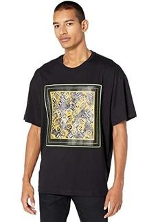 Versace Big Fit Scarf Print T-Shirt