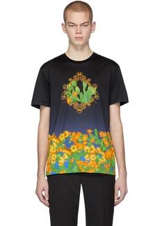 Versace Black & Blue 'Palm Springs' T-Shirt