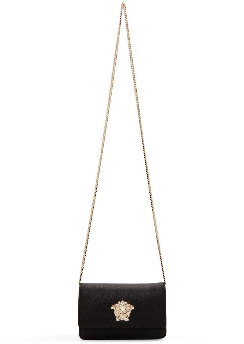 Versace Black & Gold Palazzo Bag
