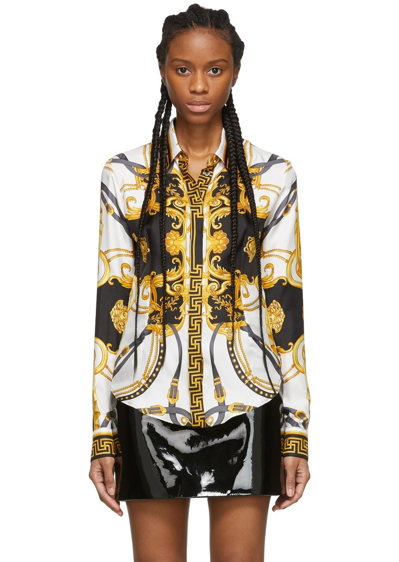 Versace Black & Gold 'The Rodeo Queen' Shirt