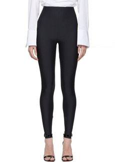 Versace Black Basic Leggings