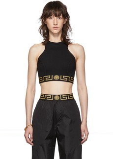 Versace Black Empire Medusa Tank Top