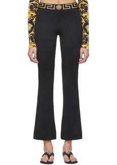 Versace Black Greek Key Lounge Pants