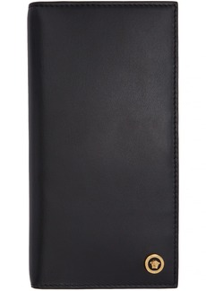 Versace Black Icon Long Wallet
