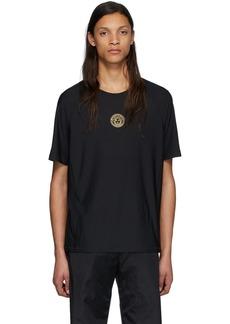 Versace Black Iconic Medusa Sport T-Shirt