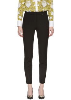 Versace Black Interlock Leggings