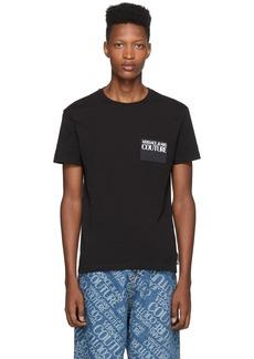 Versace Black Logo Patch T-Shirt
