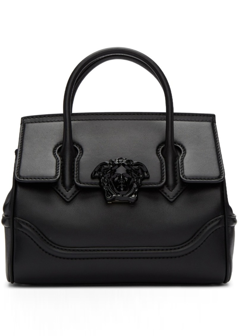 big discount of 2019 wide selection of colors latest selection Versace Black Medium Tonal Medusa Palazzo Bag   Handbags