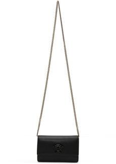 Versace Black Medusa Chain Wallet Bag