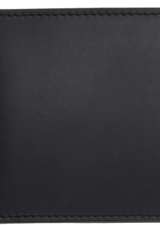 Versace Black Medusa Clip Bifold Wallet