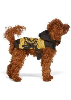 Versace Black Medusa Dog Raincoat