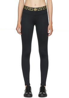 Versace Black Medusa Leggings