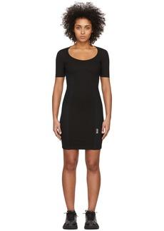Versace Black Mesh Bodycon Dress