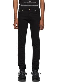 Versace Black Skinny Fit Jeans