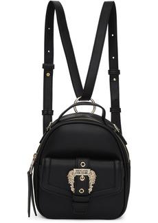 Versace Black Small Vintage Buckle Backpack