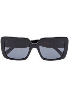 Versace square-frame sunglasses