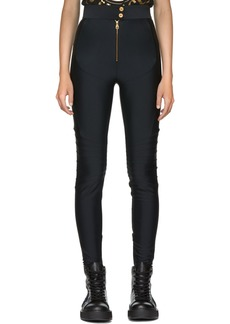 Versace Black Stretch Leggings
