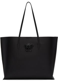 Versace Black Tonal Medusa Tote