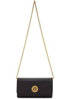 Versace Black Tribute Icon Chain Bag