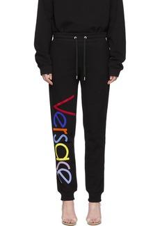 Versace Black Vintage Logo Lounge Pants