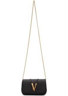 Versace Black Virtus Evening Bag