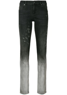 Versace bleached skinny jeans