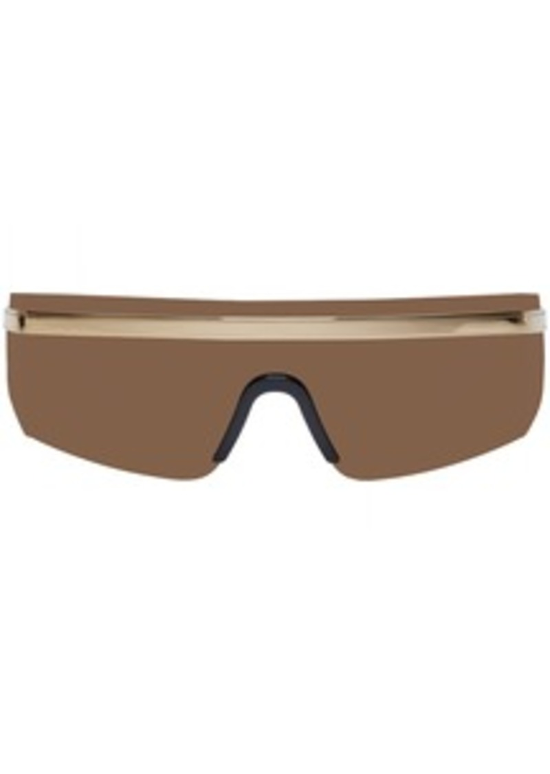 Versace Brown Rock Icon Sunglasses