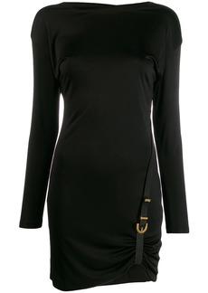 Versace buckle detail dress