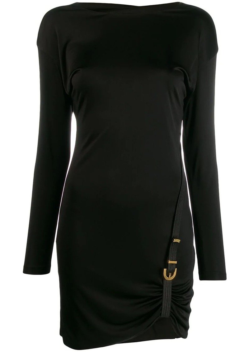 Versace buckle detail dress