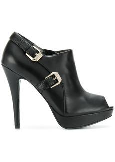 Versace buckle-embellished pumps
