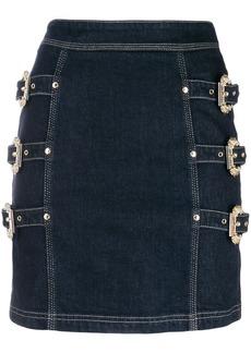 Versace buckle skirt