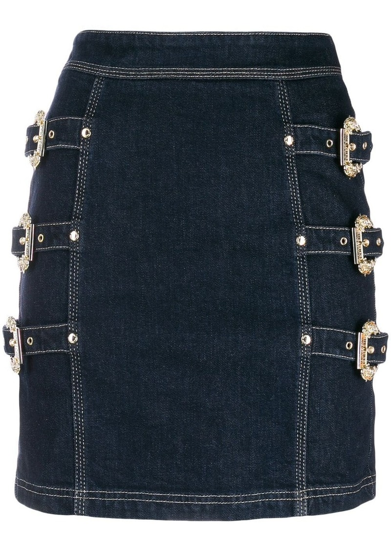 Versace buckle skirt