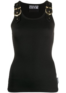 Versace buckle strap vest top
