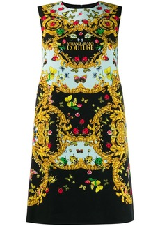 Versace butterfly print dress