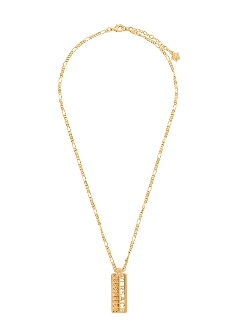 Versace chain logo necklace