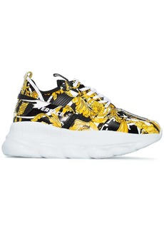 Versace Chain Reaction 2 Baroque print sneakers