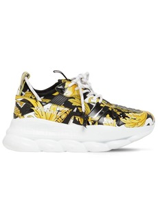 Versace Chain Reaction 2 Printed Mesh Sneakers