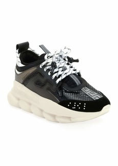 Versace Chain Reaction Platform Sneakers