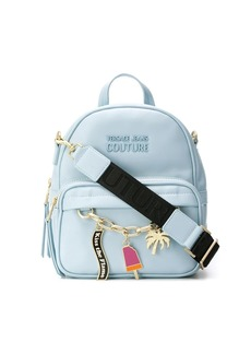 Versace charm detail medium backpack