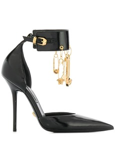 Versace charm detail pumps