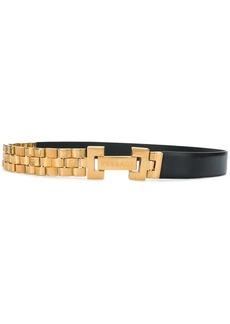 Versace chunky chain belt