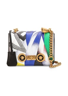 Versace Clash Leather Shoulder Bag