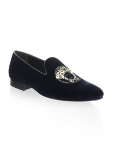 Versace Classic Velvet Loafers