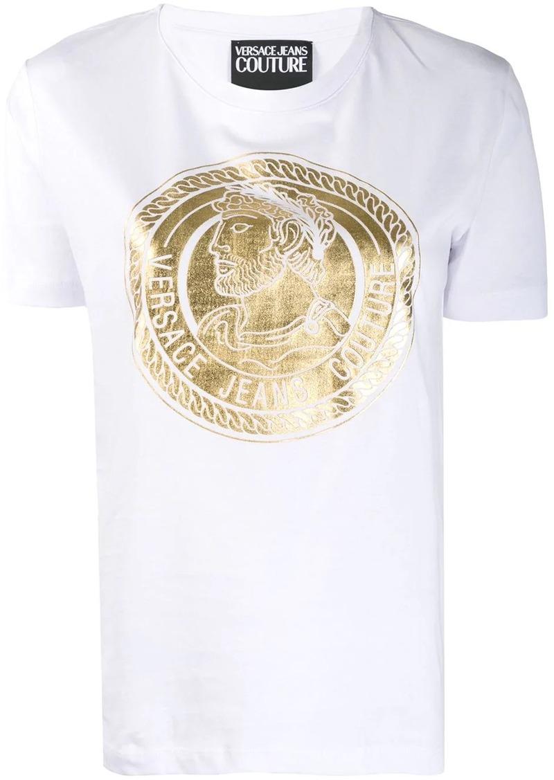 Versace coin print T-shirt