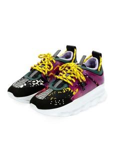Versace Colorblock Chain Reaction Sneakers