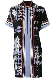 Versace colour-block shift dress